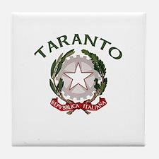 Taranto, Italy Tile Coaster