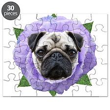 Pug Flower Puzzle