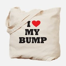 I love my bump Tote Bag