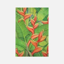 Hawaiian Heliconia Rectangle Magnet