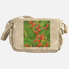 Hawaiian Heliconia Messenger Bag