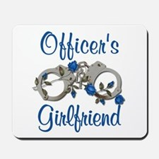 Officer's Girlfriend Mousepad