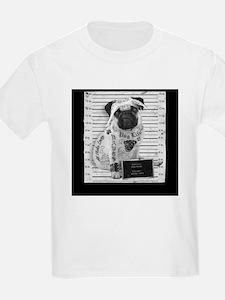"Pug Life Mug Shot ""All Eyez On Me"" T-Shirt"