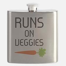runs on veggies Flask