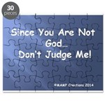Since You Are Not God By Mamp Creations Puzzle