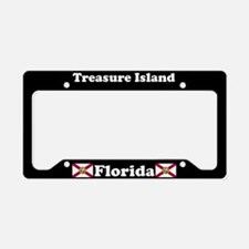 Treasure Island, FL License Plate Holder