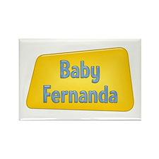 Baby Fernanda Rectangle Magnet