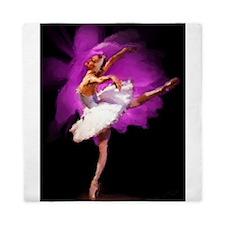 Impressionist Ballerina Queen Duvet