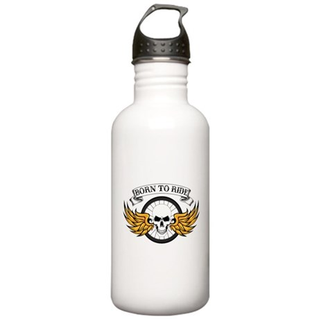 Born To Ride (Road Bik Stainless Water Bottle 1.0L