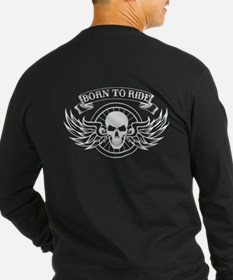 2-sided Born To Ride T