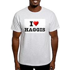I LOVE - HAGGIS T-Shirt