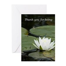 Thank you for being Greeting Cards