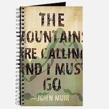 John Muir Mountains Journal
