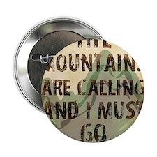 """John Muir Mountains 2.25"""" Button"""