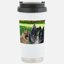 Happy Shiloh Shepherds Stainless Steel Travel Mug