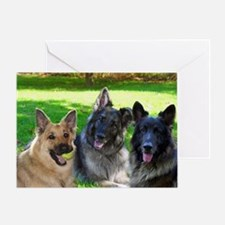Happy Shiloh Shepherds Greeting Card