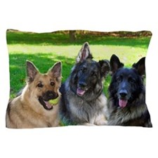 Happy Shiloh Shepherds Pillow Case