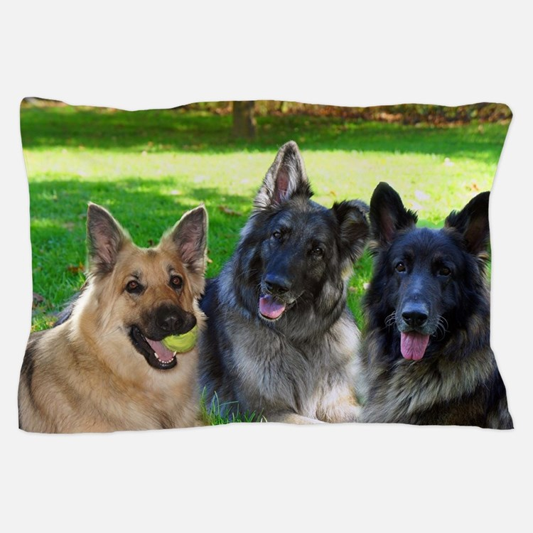 Happy Shiloh Shepherds Pillow Case