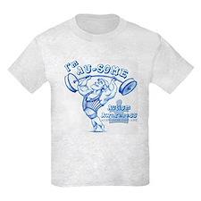 Ausome Autism Strongman Kid's T-Shirt