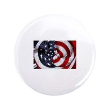 """Swirling Flag 3.5"""" Button"""