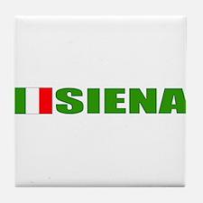 Siena, Italy Tile Coaster