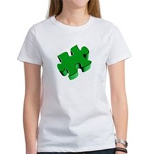 Puzzle Piece 2.1 Green Tee