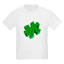 Puzzle Piece 2.1 Green T-Shirt