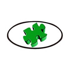 Puzzle Piece 2.1 Green Patches