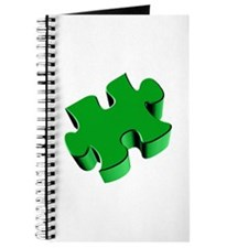 Puzzle Piece 2.1 Green Journal