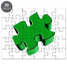 Puzzle Piece 2.1 Green Puzzle