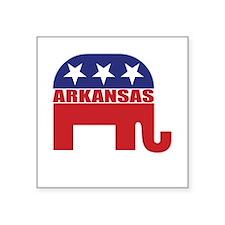 Arkansas Republican Elephant Sticker