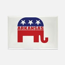 Arkansas Republican Elephant Magnets