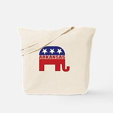 Arkansas Republican Elephant Tote Bag