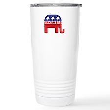 Arkansas Republican Elephant Travel Mug