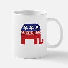 Arkansas Republican Elephant Mugs