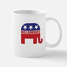 Delaware Republican Elephant Mugs