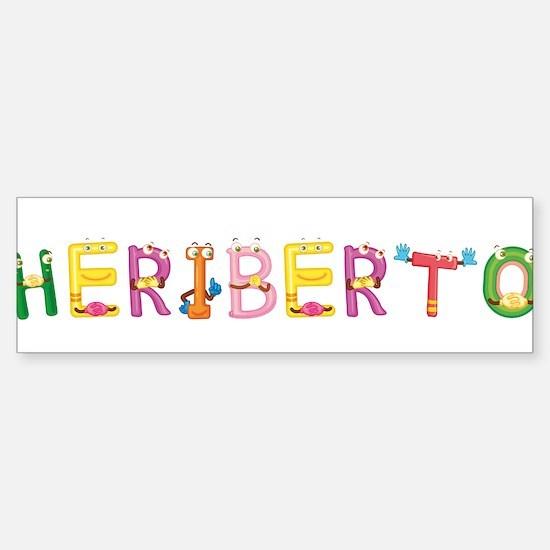 Heriberto Bumper Bumper Bumper Sticker