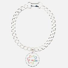 Rainbow Gradient Autism Bracelet