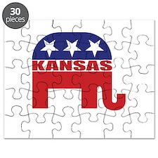 Kansas Republican Elephant Puzzle