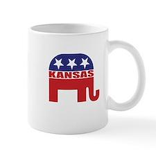 Kansas Republican Elephant Mugs