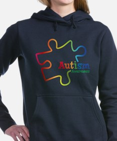 Rainbow Gradient Autism Hooded Sweatshirt