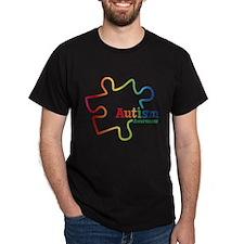 Rainbow Gradient Autism T-Shirt