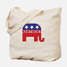 Kentucky Republican Elephant Tote Bag