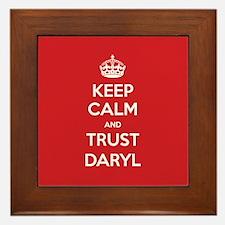 Trust Daryl Framed Tile