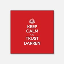 Trust Darren Sticker