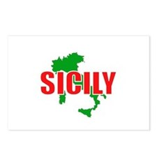 Sicily, Italy Postcards (Package of 8)