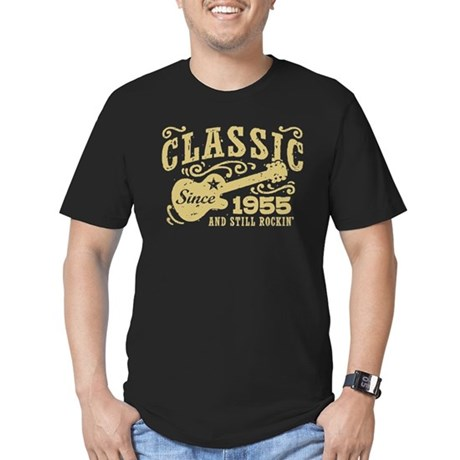Classic Since 1955 Men's Fitted T-Shirt (dark)