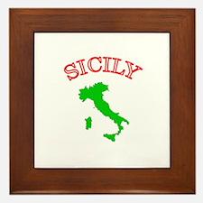 Sicily, Italy Framed Tile