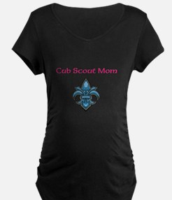 Cub Scout Mom Simple Maternity T-Shirt