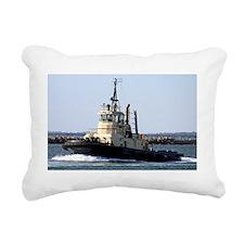 Tug boat 3 Rectangular Canvas Pillow